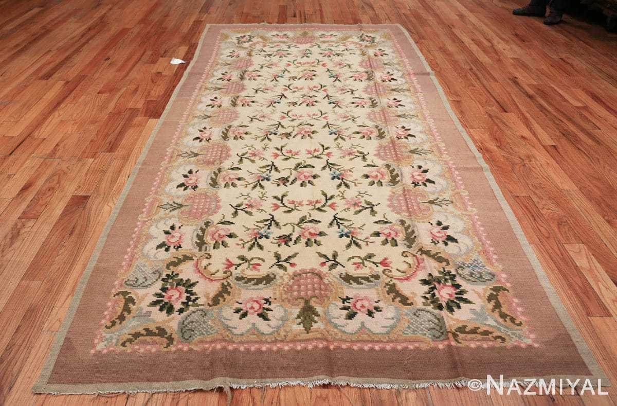 vintage floral romanian bessarabian rug 50379 whole Nazmiyal