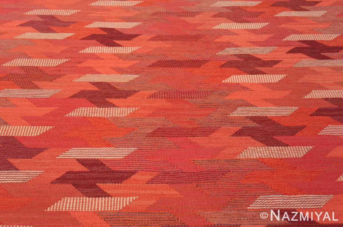 vintage geometric marta maas scandinavian rug by barbro nilsson 49563 field Nazmiyal