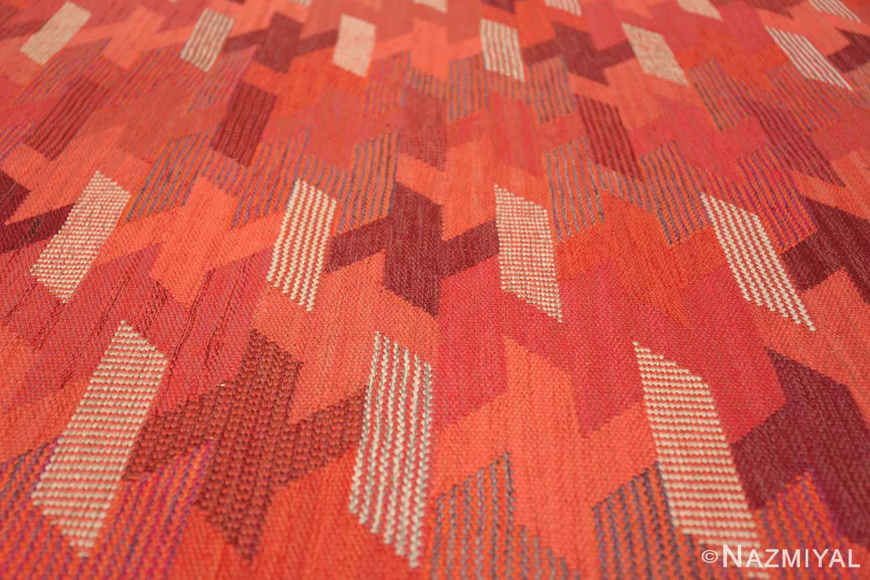 vintage geometric marta maas scandinavian rug by barbro nilsson 49563 ivory Nazmiyal