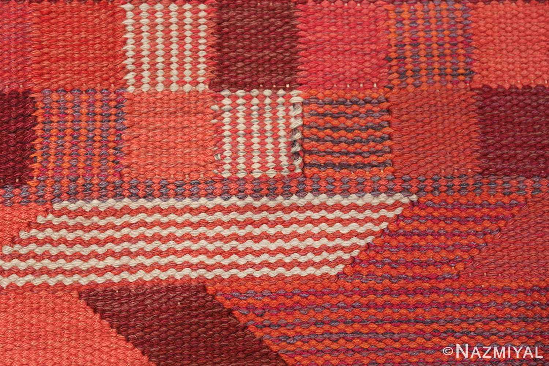 vintage geometric marta maas scandinavian rug by barbro nilsson 49563 texture Nazmiyal