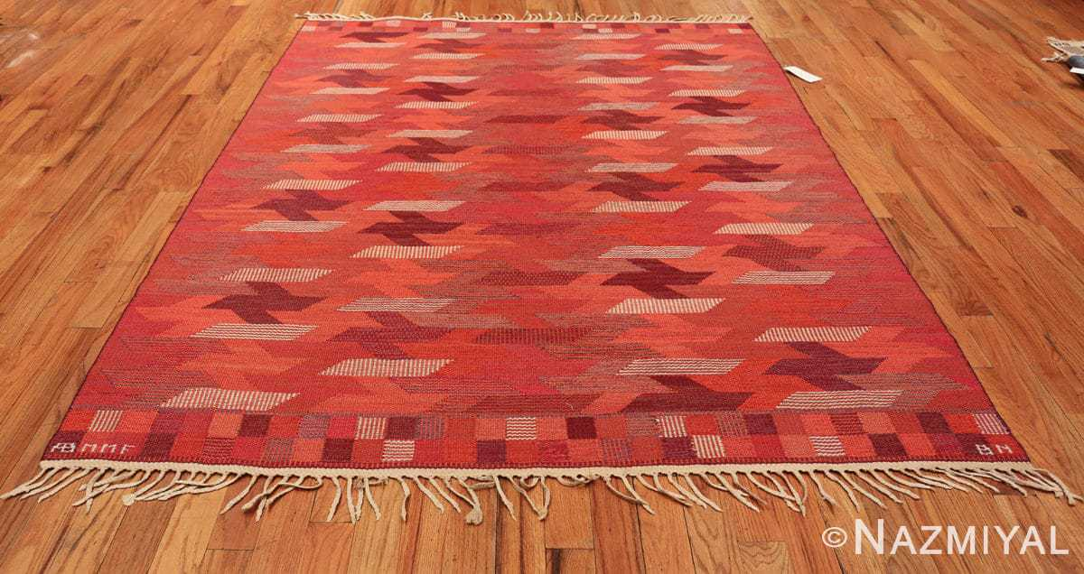 vintage geometric marta maas scandinavian rug by barbro nilsson 49563 whole Nazmiyal