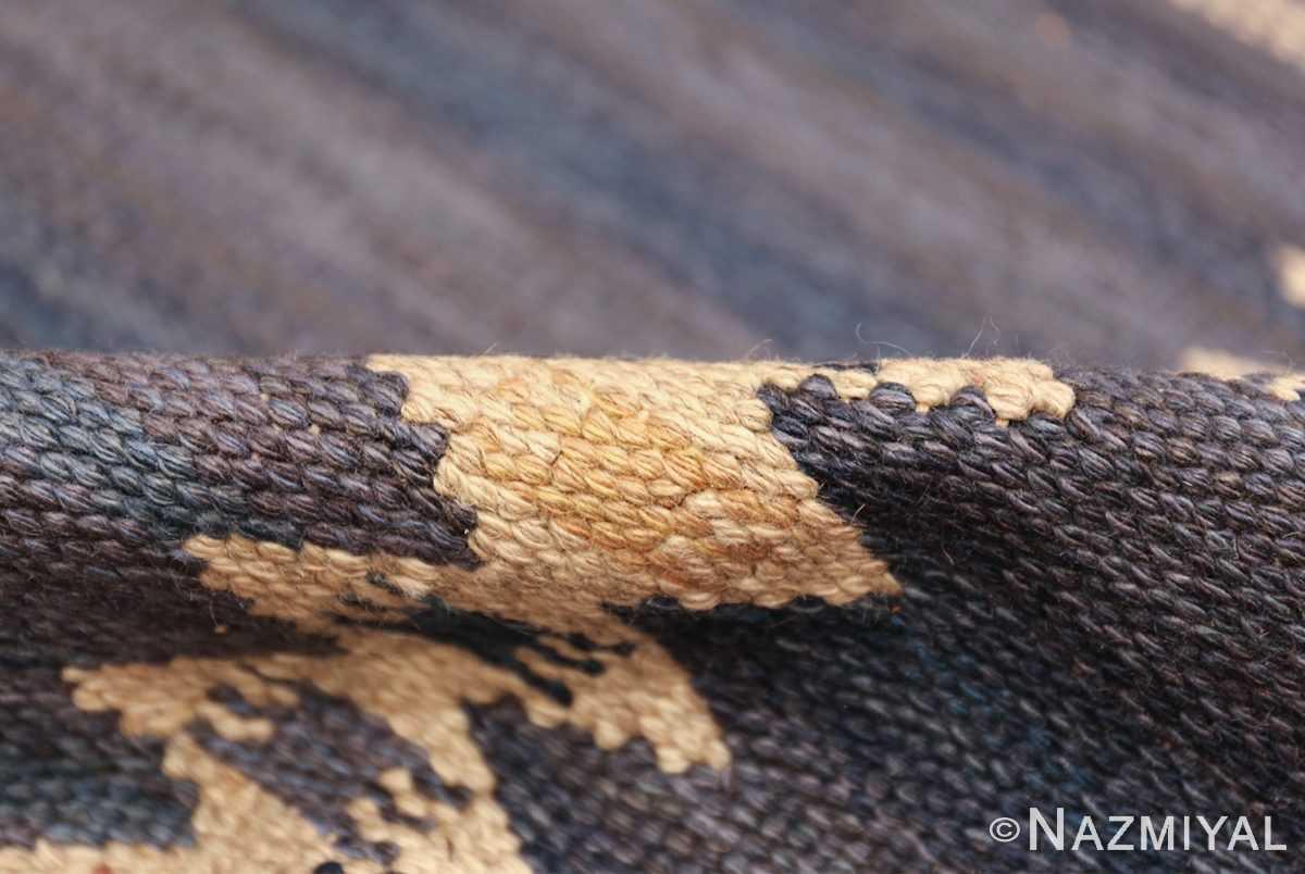vintage geometric scandinavian kilim rug by barbro nilsson 49572 pile Nazmiyal