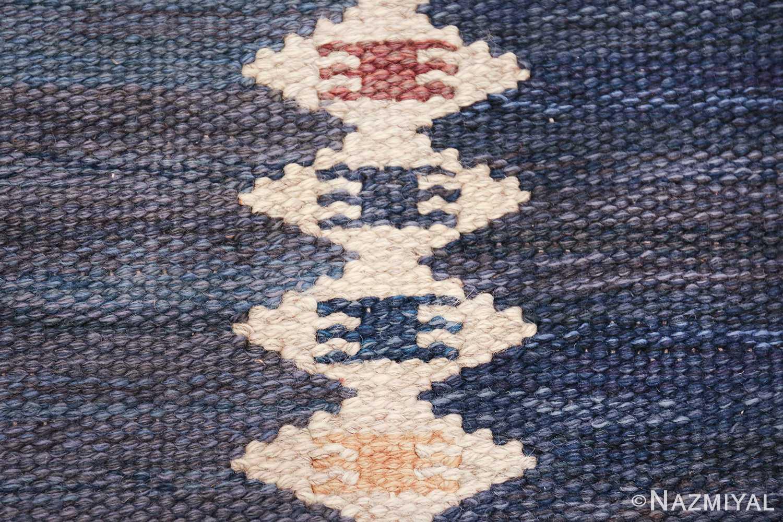 vintage geometric scandinavian kilim rug by barbro nilsson 49572 texture Nazmiyal