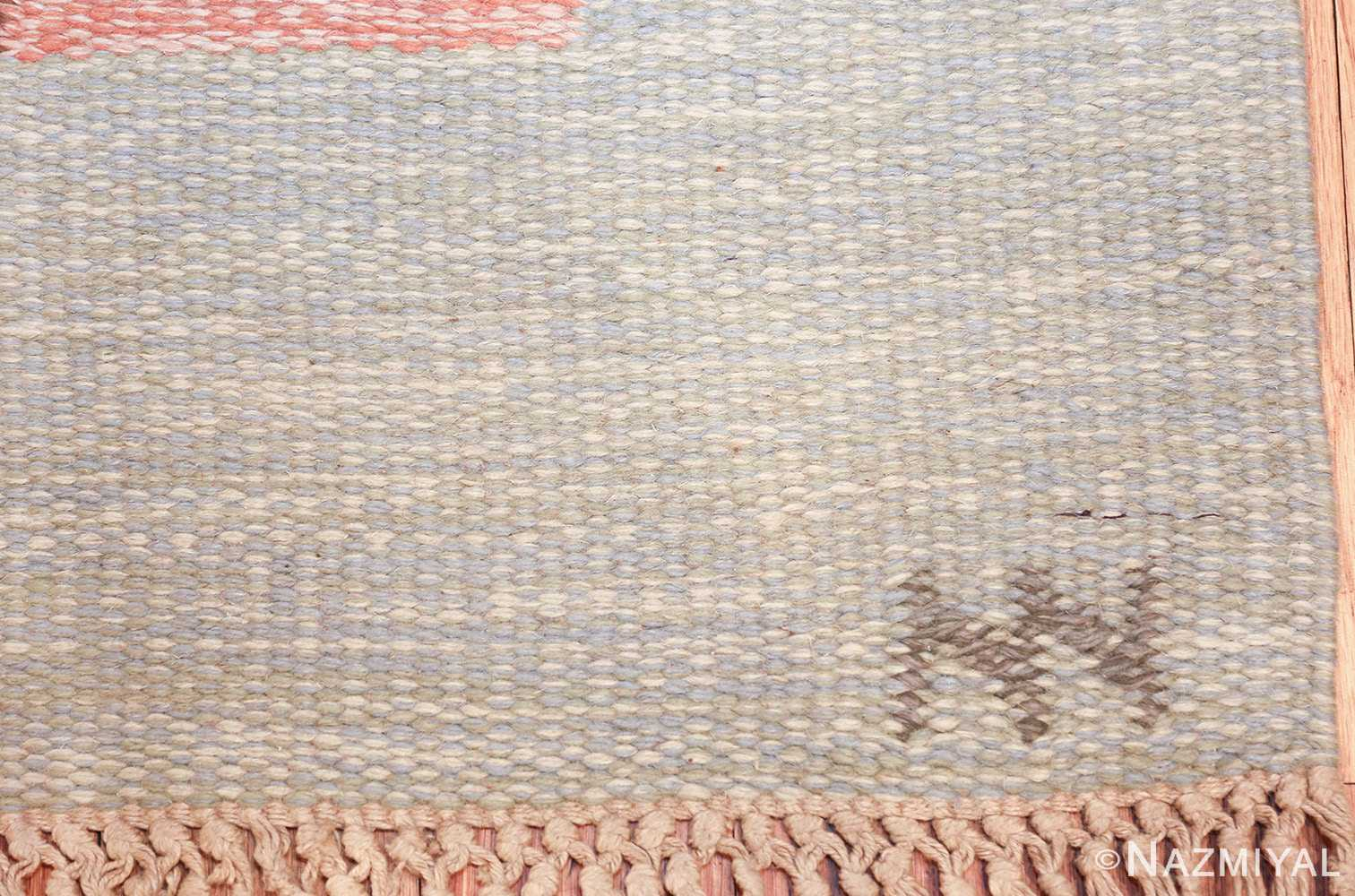 vintage geometric signed nn swedish scandinavian rug 49584 nn Nazmiyal