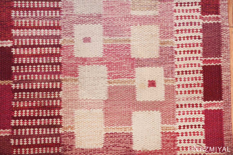 vintage marianne richter designed scandinavian rug for marta maas 49569 border Nazmiyal