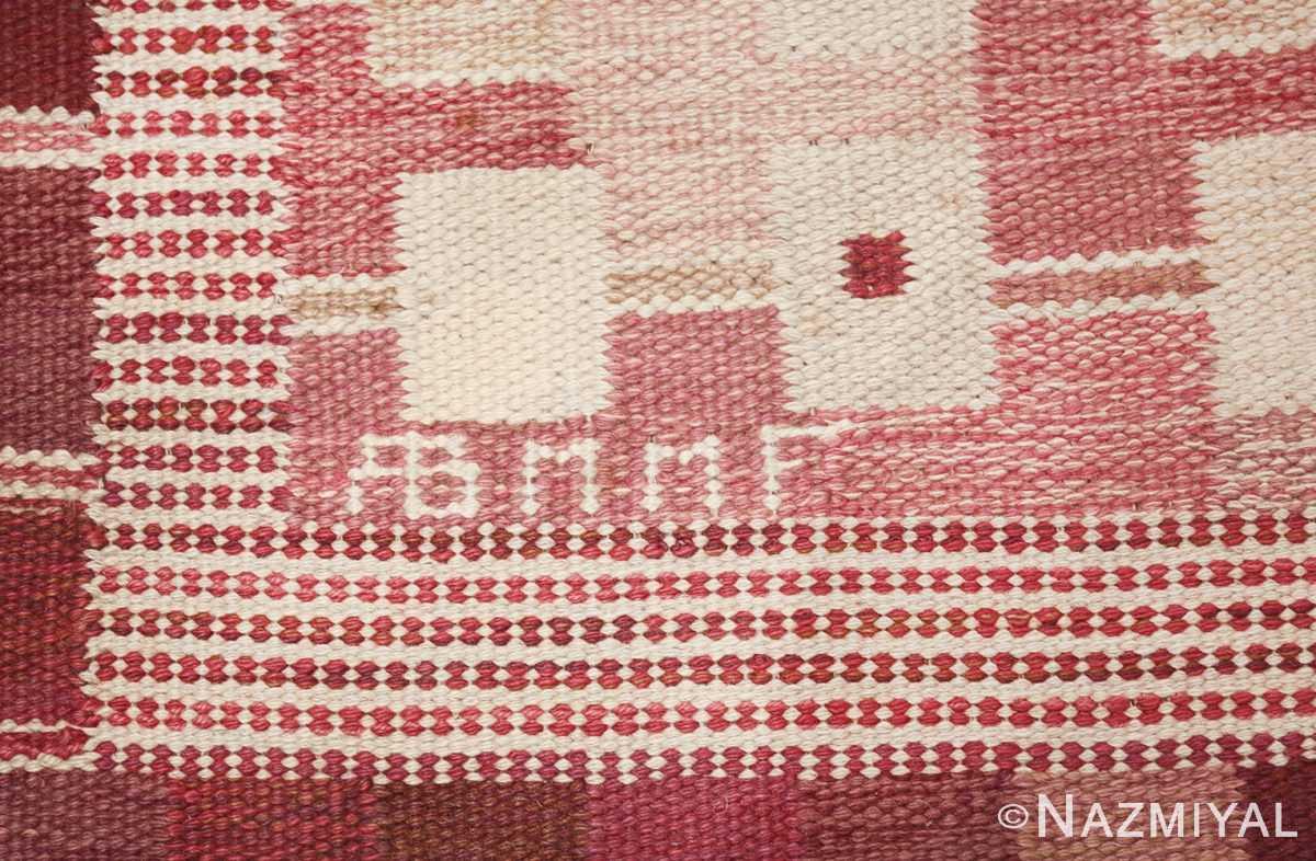 vintage marianne richter designed scandinavian rug for marta maas 49569 mmf Nazmiyal