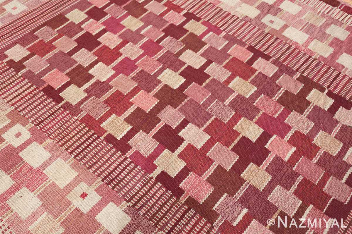 vintage marianne richter designed scandinavian rug for marta maas 49569 side Nazmiyal