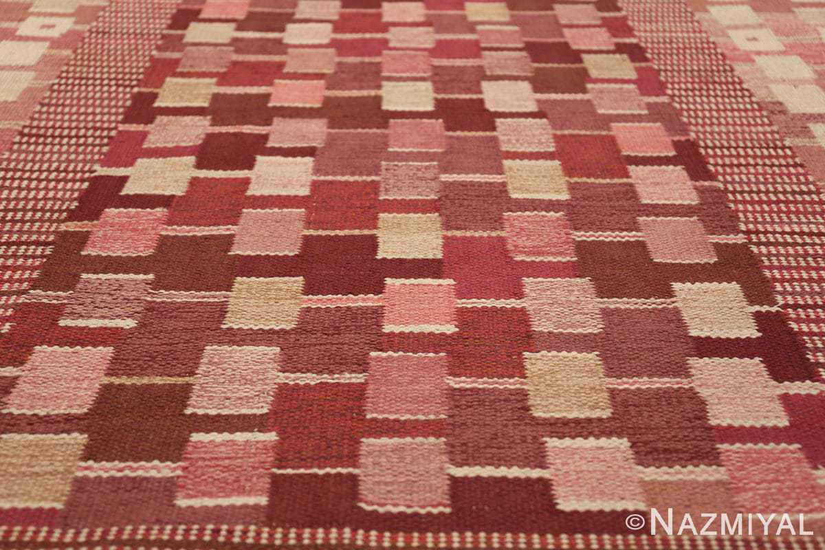 vintage marianne richter designed scandinavian rug for marta maas 49569 squares Nazmiyal
