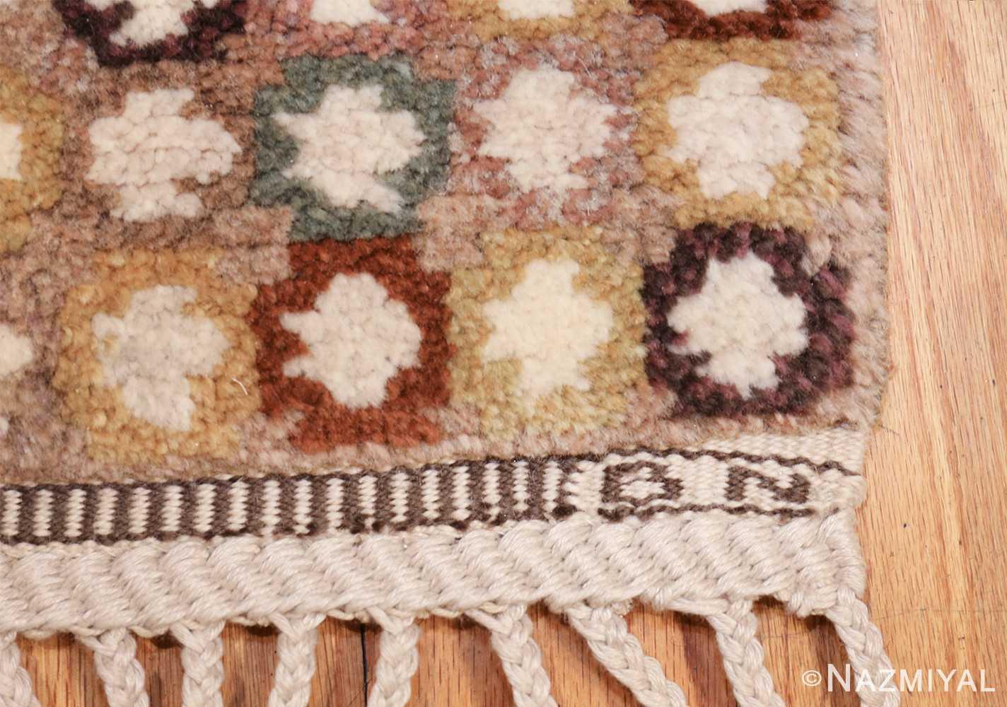 vintage marta maas scandinavian rug by barbro nilsson 49564 bn Nazmiyal