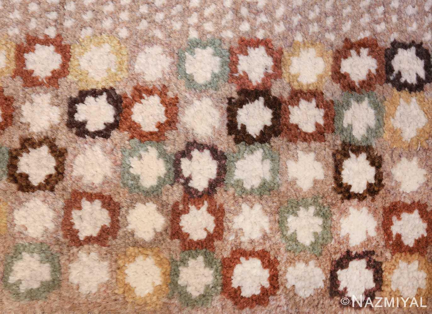 vintage marta maas scandinavian rug by barbro nilsson 49564 colorful Nazmiyal