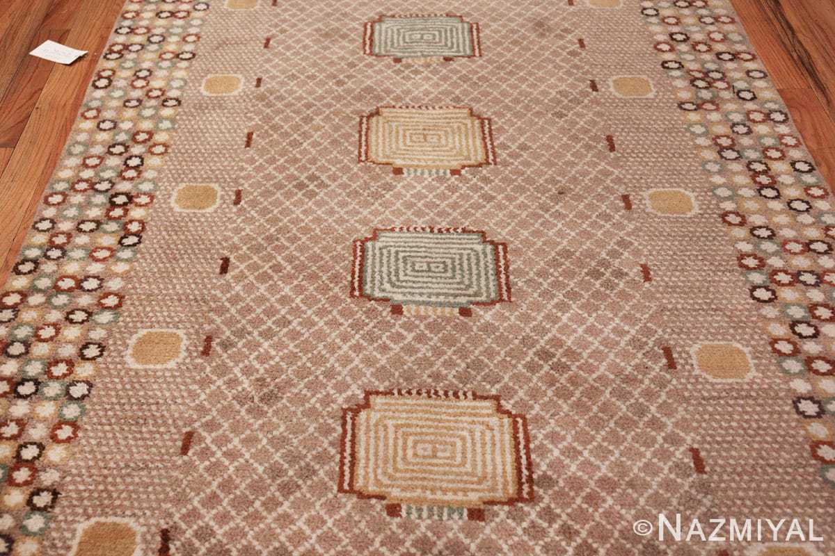 vintage marta maas scandinavian rug by barbro nilsson 49564 field Nazmiyal