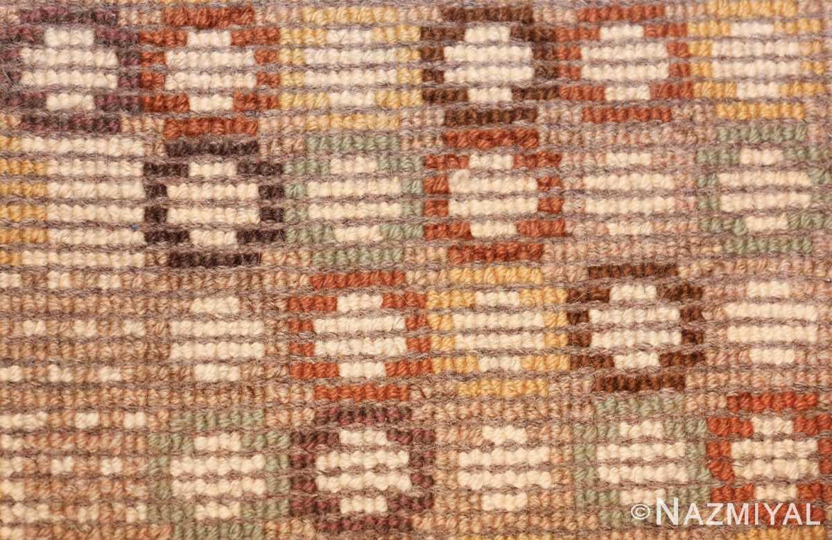 vintage marta maas scandinavian rug by barbro nilsson 49564 knots Nazmiyal