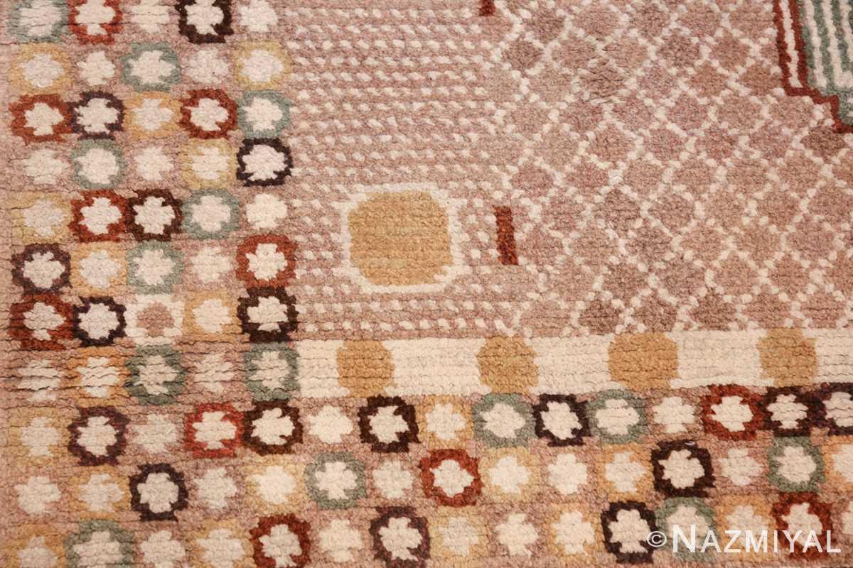 vintage marta maas scandinavian rug by barbro nilsson 49564 shapes Nazmiyal