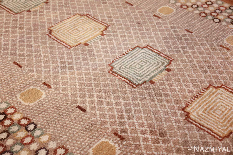vintage marta maas scandinavian rug by barbro nilsson 49564 side Nazmiyal