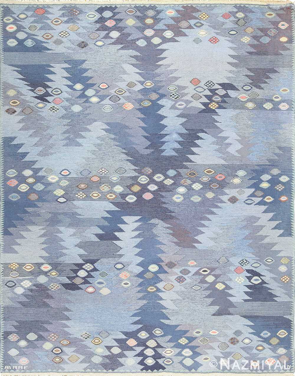 vintage marta maas scandinavian rug by barbro nilsson 49570 Nazmiyal