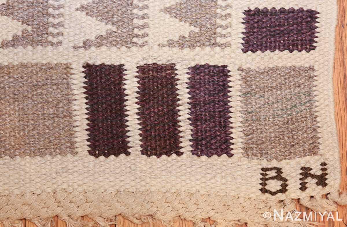 vintage marta maas scandinavian rug by barbro nilsson 49571 bn Nazmiyal