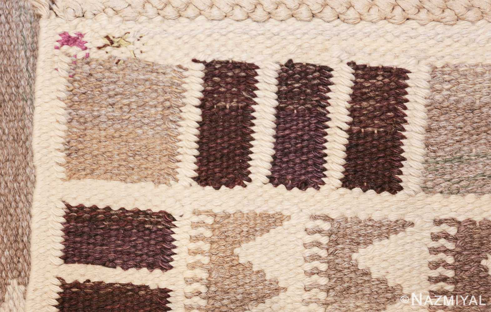 vintage marta maas scandinavian rug by barbro nilsson 49571 knots Nazmiyal
