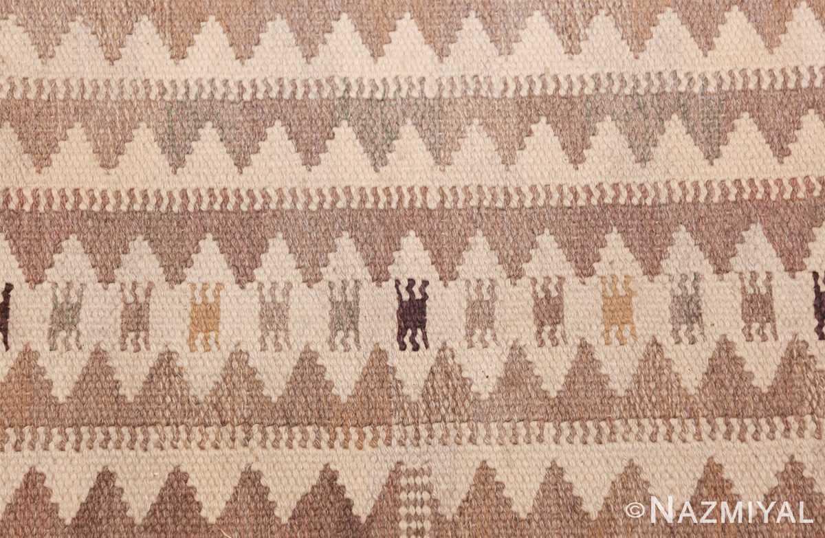 Vintage Marta Maas Scandinavian Rug by Barbro Nilsson 49571 Zigzag Nazmiyal