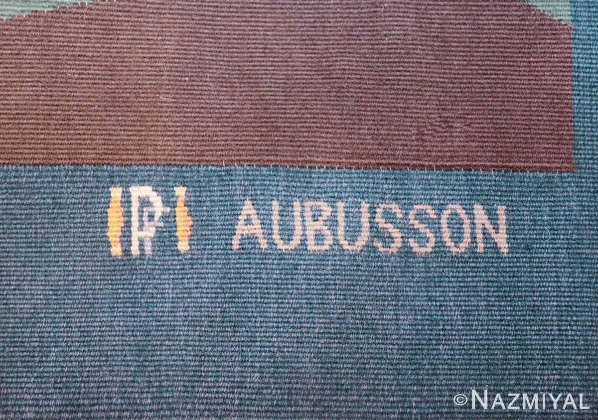 vintage pinton freres gynning french tapestry 49574 aubusson Nazmiyal