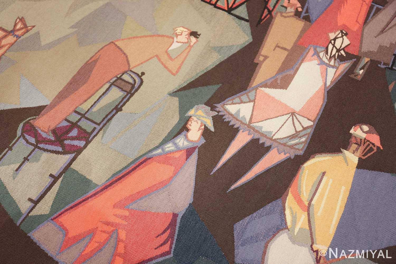 vintage pinton freres gynning french tapestry 49574 binacular Nazmiyal