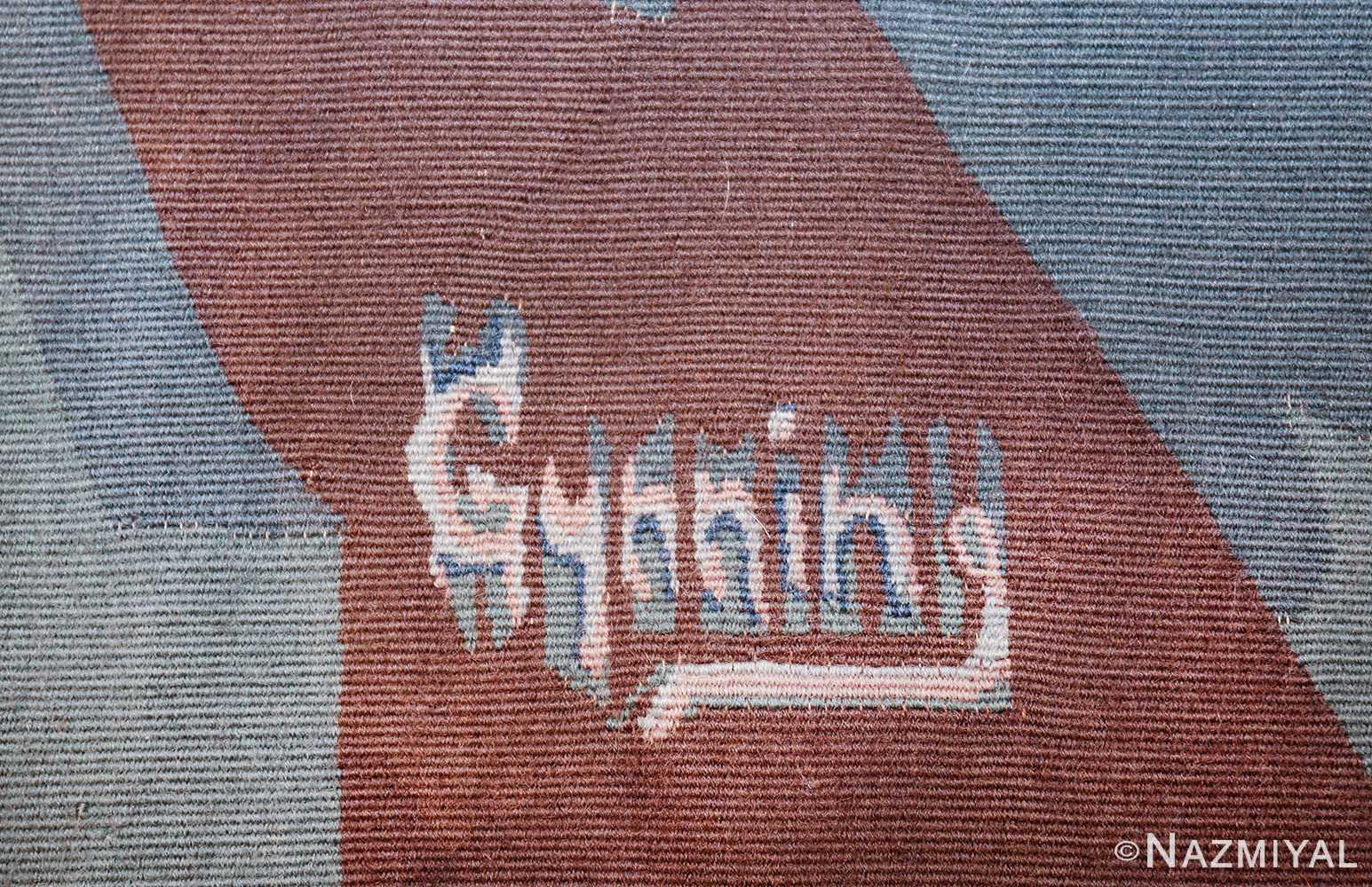 vintage pinton freres gynning french tapestry 49574 gynning Nazmiyal