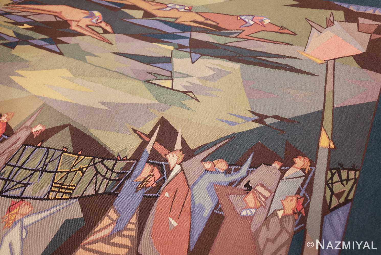 vintage pinton freres gynning french tapestry 49574 race Nazmiyal