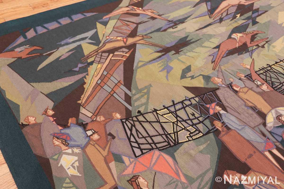 vintage pinton freres gynning french tapestry 49574 right Nazmiyal