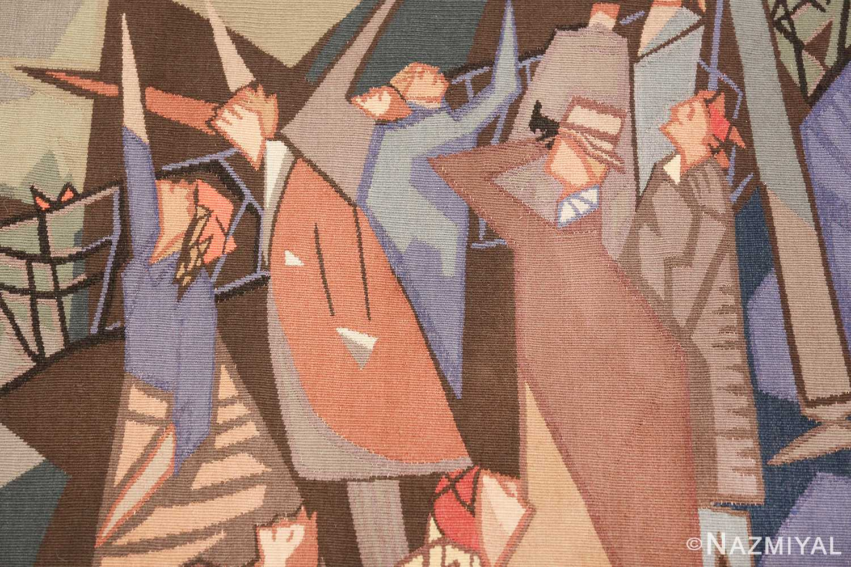 vintage pinton freres gynning french tapestry 49574 waving Nazmiyal