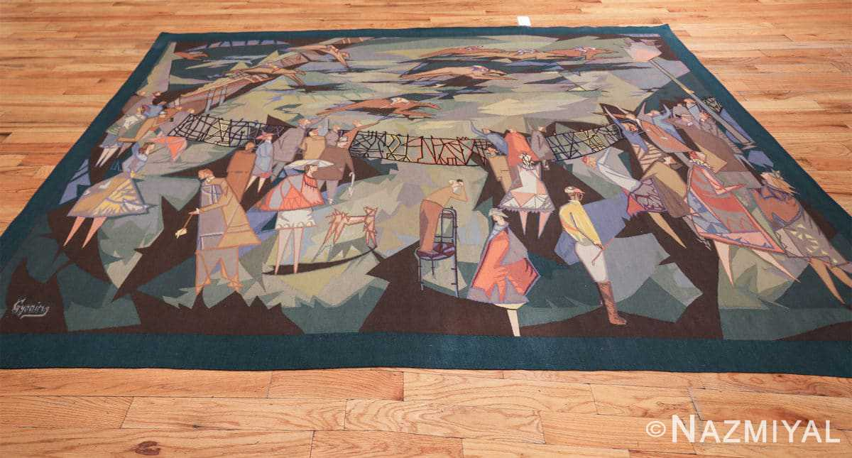 vintage pinton freres gynning french tapestry 49574 whole Nazmiyal