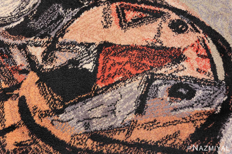 vintage scandinavian rug by corneille 49578 nose Nazmiyal