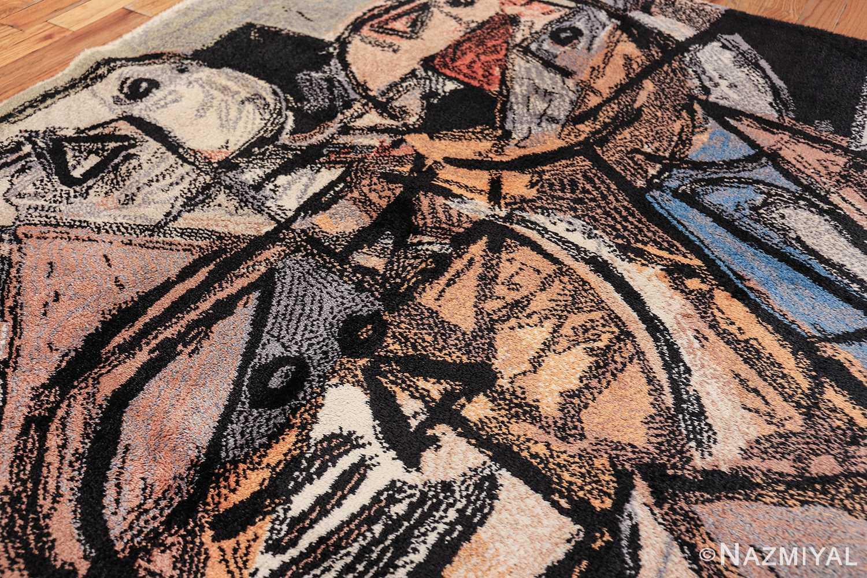 vintage scandinavian rug by corneille 49578 side Nazmiyal
