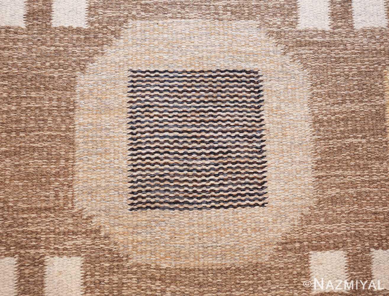 vintage scandinavian swedish kilim rug by rakel callander 49575 lines Nazmiyal