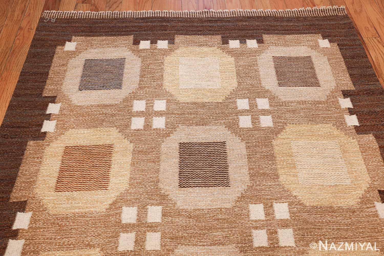vintage scandinavian swedish kilim rug by rakel callander 49575 top Nazmiyal