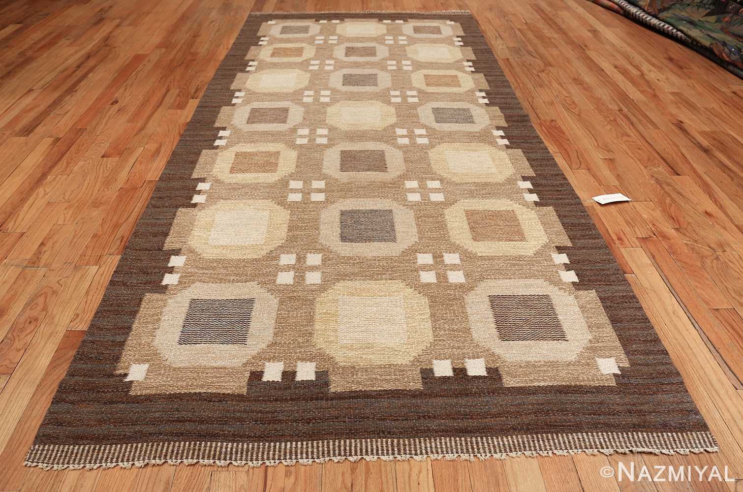 vintage scandinavian swedish kilim rug by rakel callander 49575 whole Nazmiyal