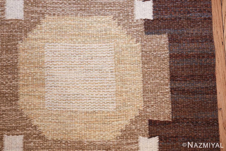 vintage scandinavian swedish kilim rug by rakel callander 49575 yellow Nazmiyal