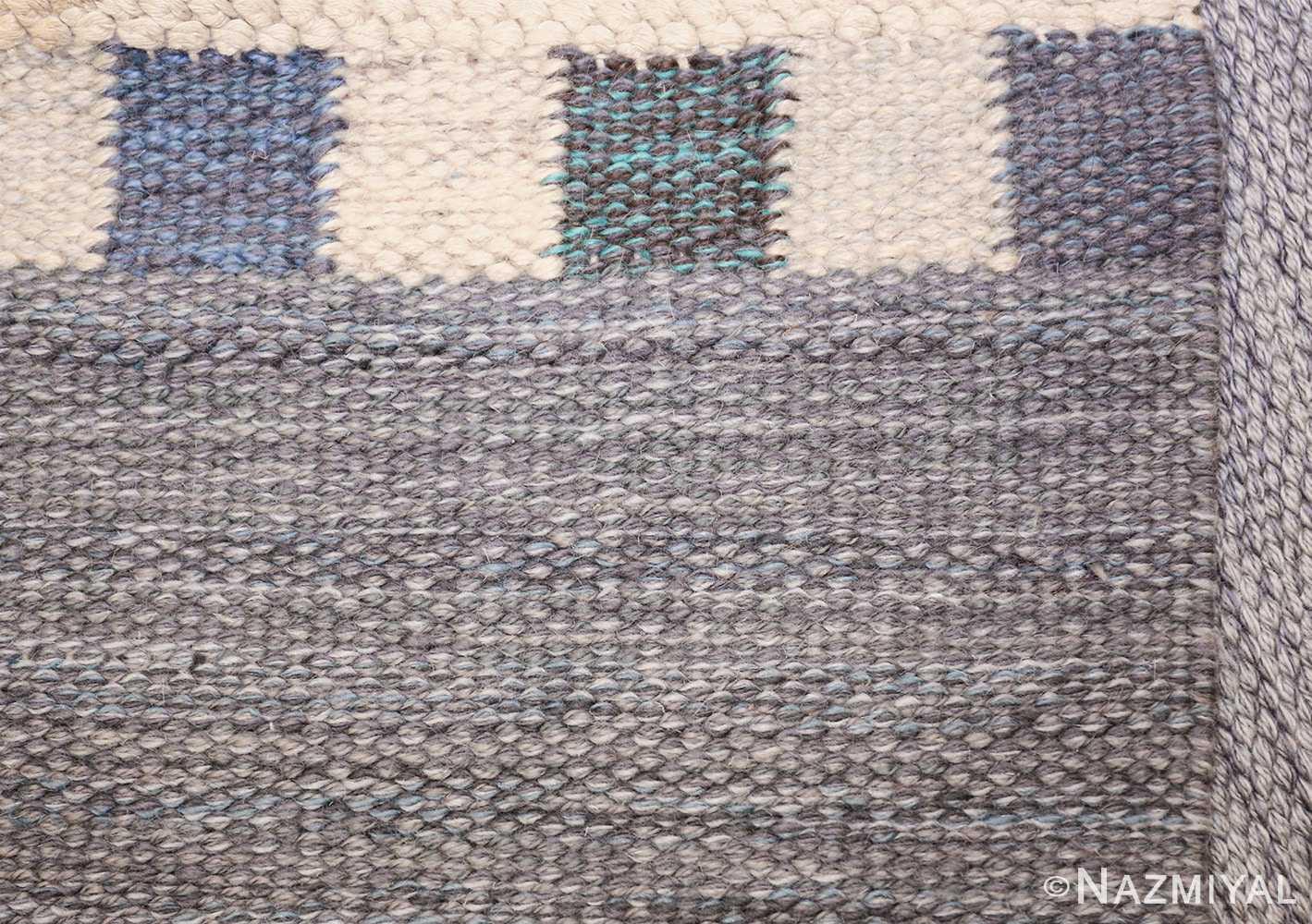 vintage swedish kilim rug by marianne richter for marta maas 49576 knots Nazmiyal