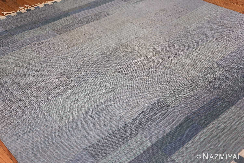 vintage swedish kilim rug by marianne richter for marta maas 49576 side Nazmiyal