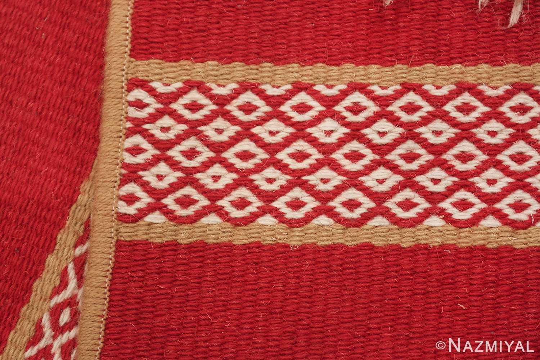 vintage swedish scandinavian runner rug 49561 knots Nazmiyal