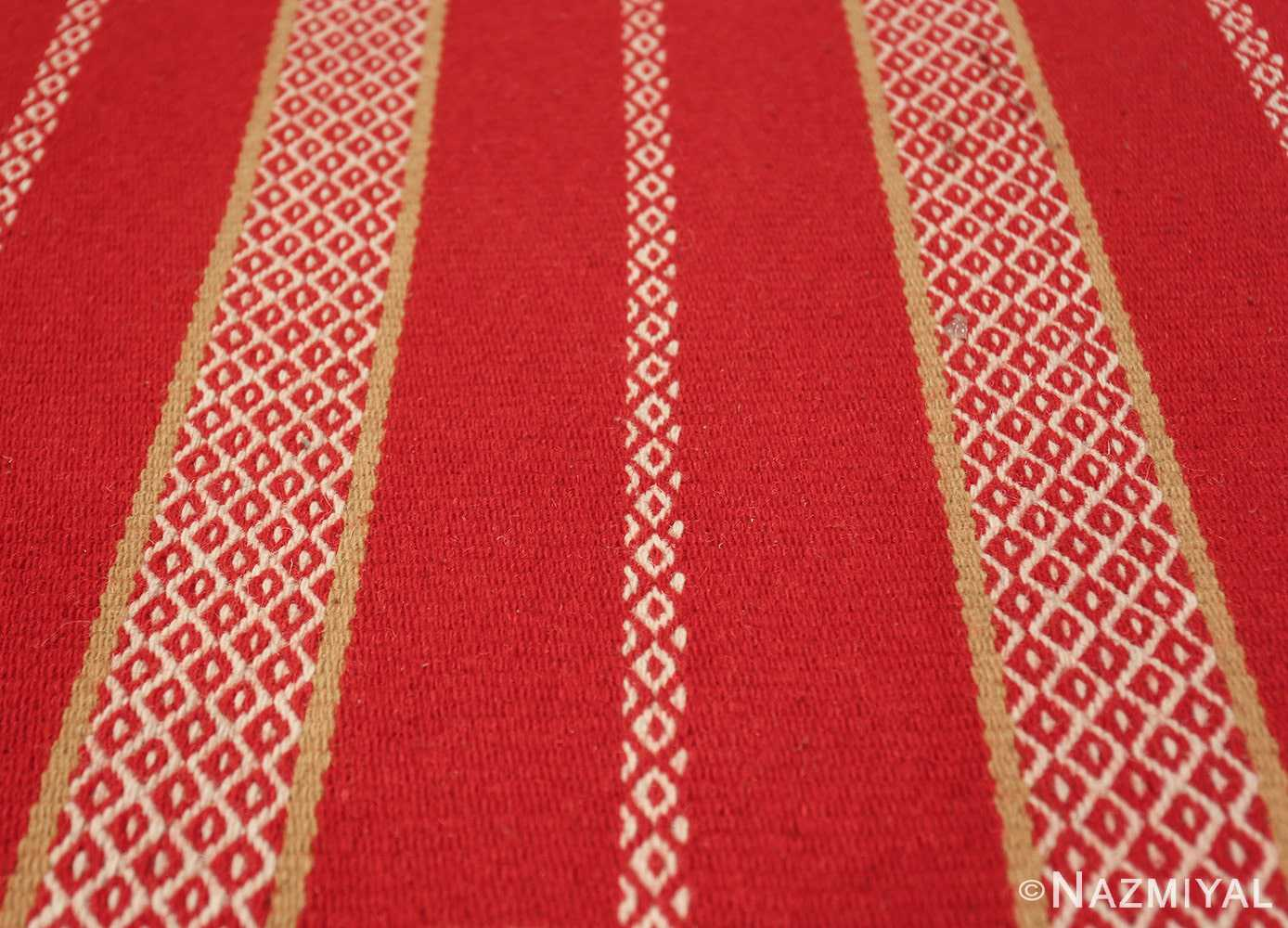 vintage swedish scandinavian runner rug 49561 lines Nazmiyal