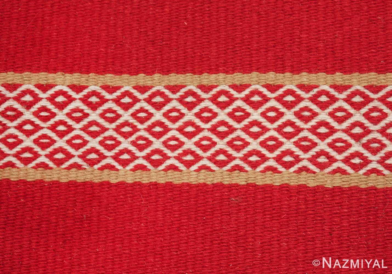 vintage swedish scandinavian runner rug 49561 texture Nazmiyal