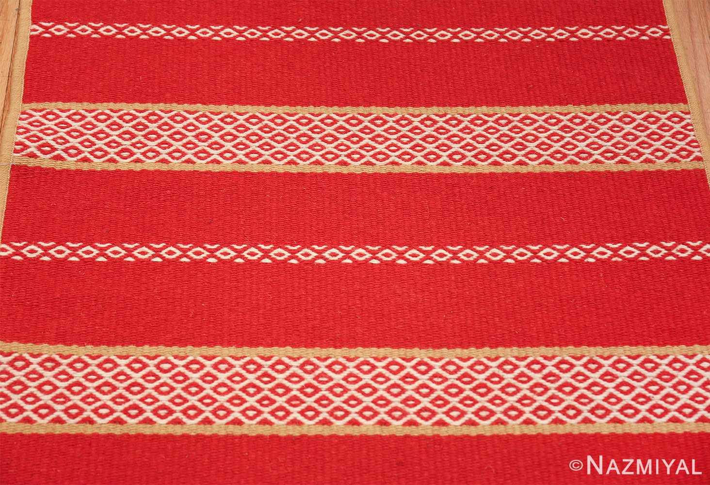 vintage swedish scandinavian runner rug 49561 up Nazmiyal