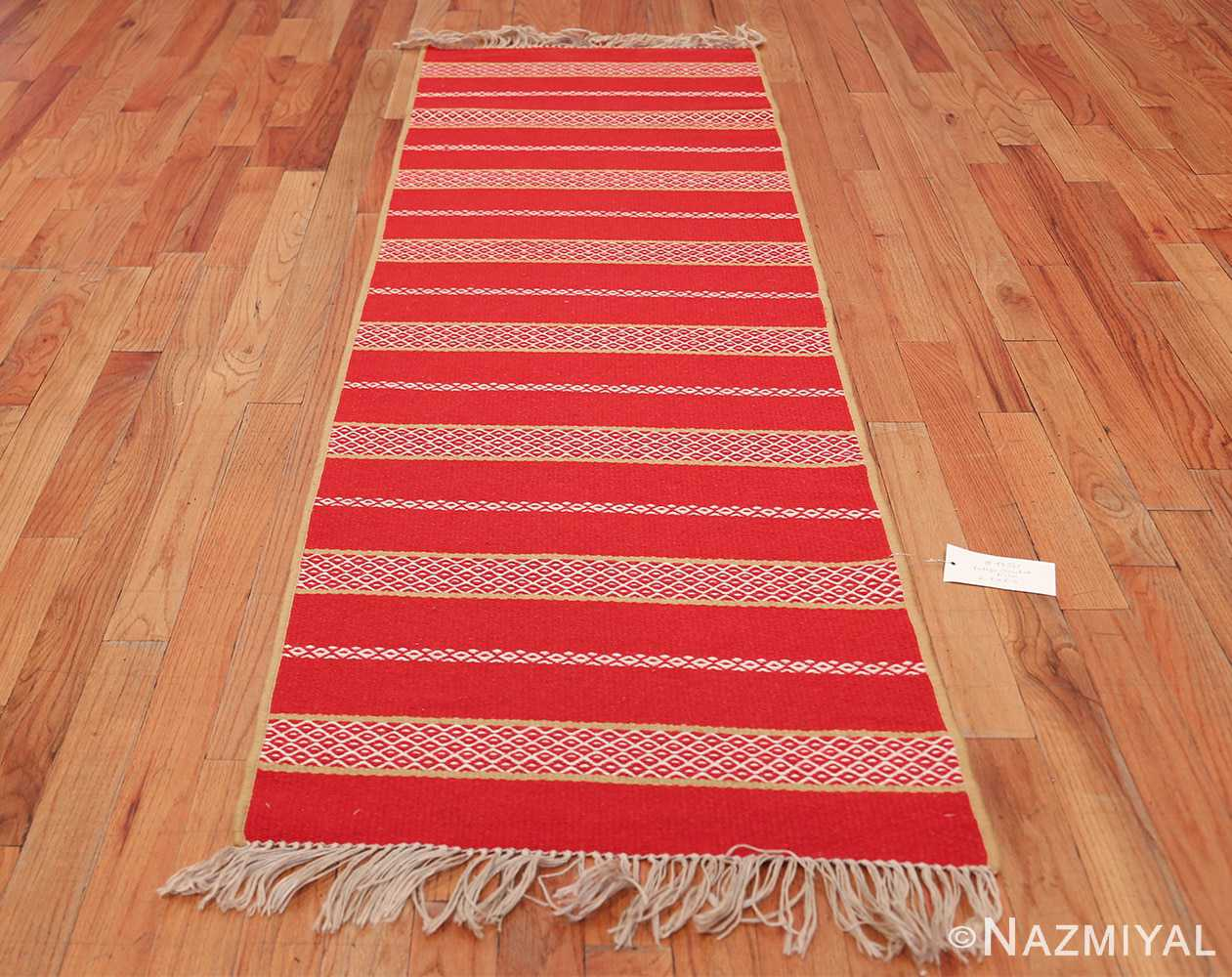 vintage swedish scandinavian runner rug 49561 whole Nazmiyal