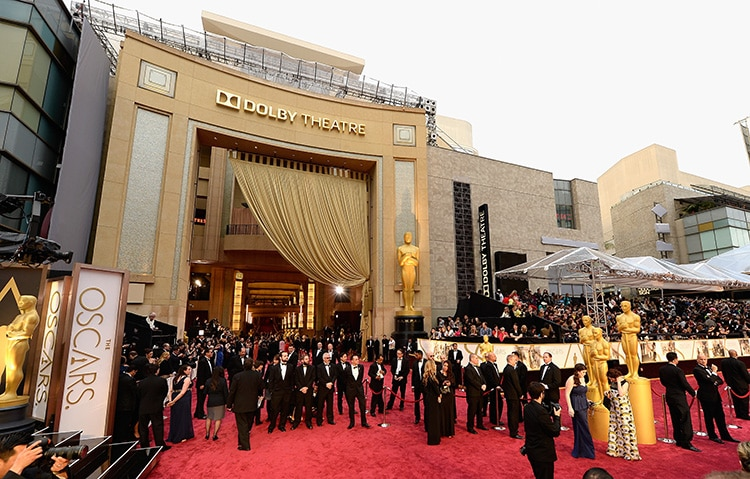 Hollywood Elite On Oscars Red Carpet During The 86th Academy Awards by Nazmiyal