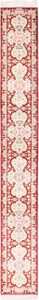 Narrow Vintage Red Persian Silk Qum Rug Runner 49603 by Nazmiyal