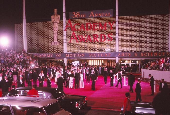 Oscars First Red Carpet - 38th Academy Awards 1966 by Nazmiyal