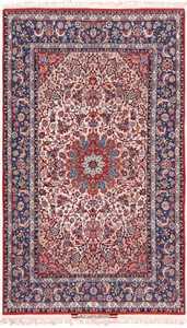 Persian Silk and Wool Vintage Isfahan Signed Seyrafian Rug 49619 by Nazmiyal