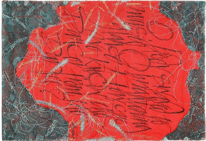 Vintage Red Scandinavian Ege Carpey After Denis Brown 49566 by Nazmiyal