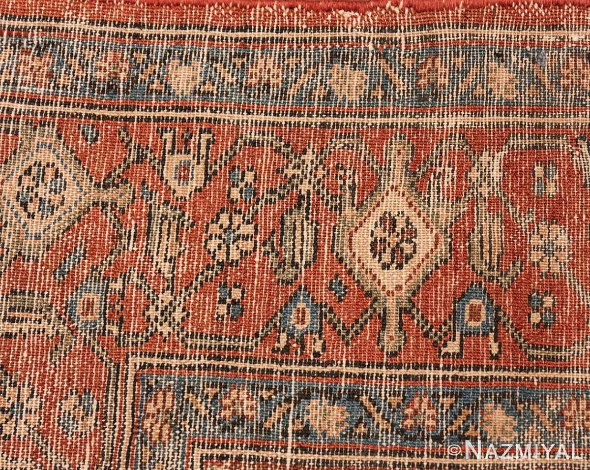 antique blue background malayer persian rug 49650 knots Nazmiyal