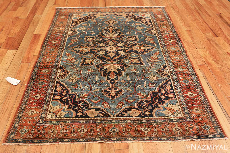 antique blue background malayer persian rug 49650 whole Nazmiyal