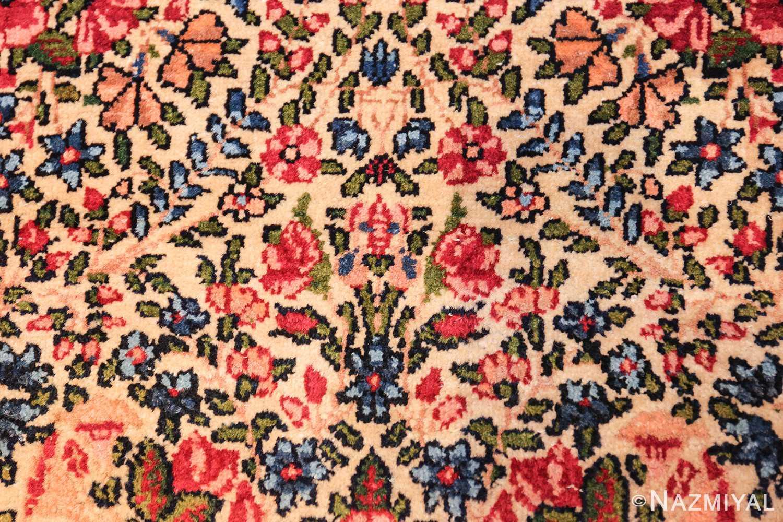 antique floral kerman persian rug 49617 bunch Nazmiyal